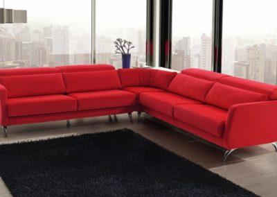 dina chaise-rojo